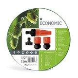 Cellfast Wąż Ogrodowy Zestaw Zraszający Economic 1/2 15m 10-101
