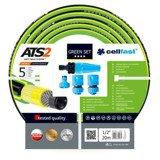 Cellfast Wąż Ogrodowy Zestaw Zraszający Green ATS2 1/2 20m 15-109